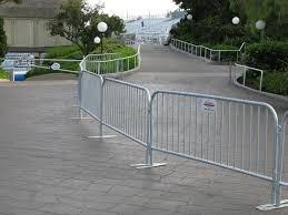 Bike rack barriers